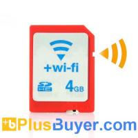 Wholesale 4GB WiFi SD Card (SDHC Type 4, Plug and Play) from china suppliers
