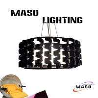 Wholesale MASO Spring Round Shape Three Lamp Glass Globe Open Cover LED 3w Light Sources MS-I6025 from china suppliers