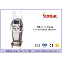 Buy cheap Vertical Type Double Handle SHR IPL IPL Hair Removal Machine , IPL Beauty Equipment from wholesalers