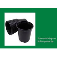 Wholesale Round Garden Nursery Pots Garden plant accessories Black or as request Color Plant Growing Material Plasitc Warranty per from china suppliers