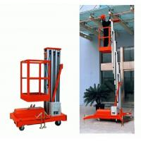 Wholesale Single Mast aluminium work platform / Hydraulic Lift Platform with large Load capacity from china suppliers