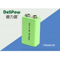 Wholesale Electronic Products 6f22 9v Battery , 170mAh  NIMH Rechargeable Battery For Instrument from china suppliers