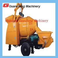 Wholesale Concrete Mixing Pump Truck Mixer Concrete Pump 30kw Motor 0.55kw Power 450 L Hopper volume from china suppliers