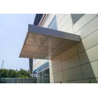 Wholesale Aluminum Cladding Panels , Aluminum Building Panels 1220*2440 Mm Thickness from china suppliers
