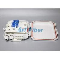 Wholesale Networks FTTH Distribution Box SC 8 Port Waterproof  , Fiber Termination Box from china suppliers
