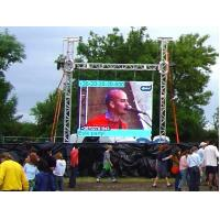 Wholesale P4mm Ultra Thin Custom LED Advertising Screen Fast installation , Super Slim cabinet from china suppliers