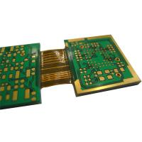 Wholesale High Rigid Flex PCB / Multilayer Printed Board PET Material 6-Layers Lead Free HASL Surface Finishing Green Solder Mask from china suppliers