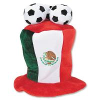Wholesale Mexico Football 3d Embroidery Outdoor Custom Made Baseball Caps With Three Balls from china suppliers