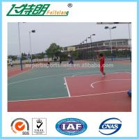 Wholesale Outdoor Silicon PU Sports Flooring Stable Tennis Court Surfacing Materials from china suppliers