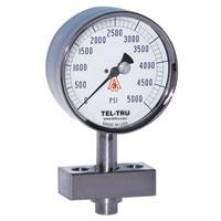 Buy cheap Isolated diaphragm antivibration pressure gauge from wholesalers
