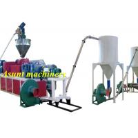 Wholesale CE 300kg / h PVC PET Recycling Machine / Plastic Pellet Machine from china suppliers