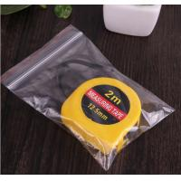 Quality Clear Custom LDPE Waterproof Plastic Ziplock Bag for Food Packing for sale