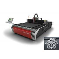 Wholesale High Speed Metal Fiber Optic Laser Cutter With Servo Motor Driving , CNC Control System from china suppliers