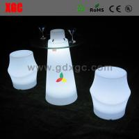 Wholesale LED light up stool furniture GF208 light furniture plastic Led furniture bar Chair Bar Chair from china suppliers