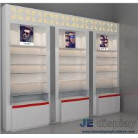 Wholesale Manufacturers Direct selling glasses accessories Storage Wall display showcase display cabinets eyeglasses wooden counte from china suppliers