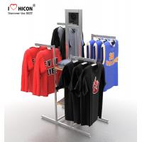 Wholesale Your Logo Clothing Store Fixtures Display Clothes Rack 4-way For Retail Store from china suppliers