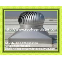 Wholesale wind driven roof turbine ventilator for workshop Aluminum from china suppliers