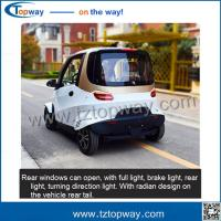 Wholesale Mini Electric Vehicle Model for European market Type city drive old people city walk from china suppliers