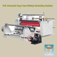 Wholesale ± 0.1mm Precision 380v 50HZ Stretch Film Rewinding Machine For Bopp Tape , PE Foam from china suppliers