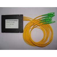 Wholesale Small Size Reliable , Compact , 1×4 FBT Fiber Optic Splitter from china suppliers