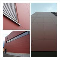 Wholesale High Strength Colored Fiber Cement Board For Interior / Exterior Wall Waterproof from china suppliers