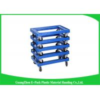 Wholesale 4 Wheels Heavy DutyPlastic Moving Dolly Big Capacity Long Service Life 612 * 412 * 145mm from china suppliers
