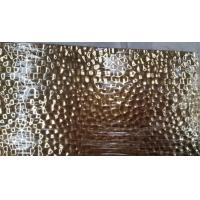 Wholesale 304 Hammered  Sheet Stainless Steel bronze gold color or brass hammered bright stainless steel from china suppliers
