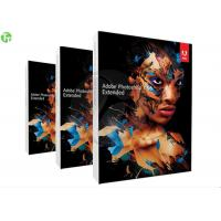 Wholesale Professional Adobe 3D Graphic Design Software , Adobe Photoshop CS 6 Extended from china suppliers