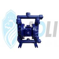 Wholesale Cast Iron Pneumatic Diaphragm Pump , Dual Diaphragm Air Pump With High Suction Head from china suppliers