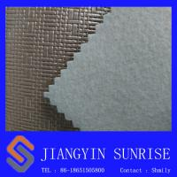 Wholesale Inodorous Decorative Leather Semi Metal Colour Pvc Leather Looking Fabric from china suppliers