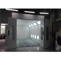 Quality Heat Recuperation Spray Paint Booth Systems , Spray Bake Paint Chamber CE TUV Certification for sale