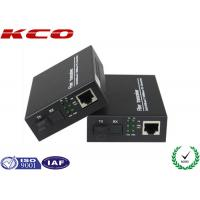 Wholesale Multimode Fiber Optic Media Converter 850nm / 1310nm Dual SC Duplex Port from china suppliers