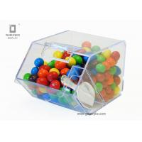 Wholesale Eco - friendly Acrylic Sweet Case With Sliding Drawers And Spoon , Easy To Enter from china suppliers