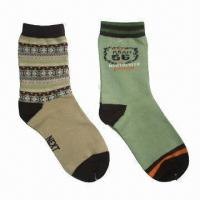 Wholesale Children's Socks with Jacquard Knitting from china suppliers