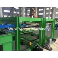 Quality High Speed Roofing Sheet Roll Forming Machine With Chroming Treatment Rollers 18 Stations for sale