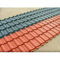 Wholesale clear corrugated semi-transparent plastic roof tile for green house from china suppliers