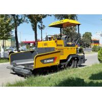 Wholesale 4.5m * 150mm Asphalt Paver Machine with Water Cooling Diesel Engine Powered 70KW from china suppliers