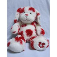 Wholesale Red Maple Leaf Stuffed Easter Bunnies Holiday Plush Toys , 16 inch from china suppliers