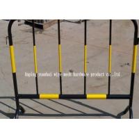 Wholesale Soft Steel Tube Powder Coated Temporary Fencing Panels , Portable Steel Security Fencing from china suppliers