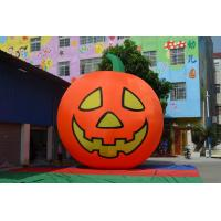 Wholesale Orange Inflatable Products Pumpkin Style With Grimace Custom from china suppliers