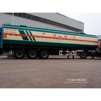 Wholesale carbon steel fuel tank semi trailer with Oil tanker to carry Diesel for 37,000 liters with 6 compartments from china suppliers