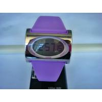 Wholesale Rectangular Ladies Quartz Digital Watch , Dual Time Watches For Women from china suppliers