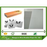 Wholesale Strong Stiffness and Foldable Grey Back Whiteboard Paper One side offset from china suppliers