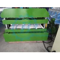 Quality Hydraulic Steel Corrugated Roofing Sheet Crimping Machine , Metal Roofing Roll Forming Machine for sale