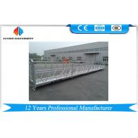 Wholesale 10M Powered Aluminum Rope Suspended Platform ZLP1000 Single Phase 2 * 2.2kw from china suppliers