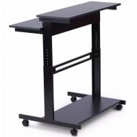 Wholesale Lifting Up Modern Furniture Table Adjustabole Height Stainless Computer Desk from china suppliers