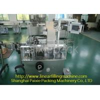 Wholesale Super Efficiency Tooth Paste Equipment For Boxing , Low Noise from china suppliers