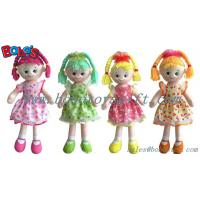 Wholesale High Quanlity Stuffed Doll Toy Soft Body Toy With Colorful Dress from china suppliers