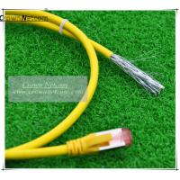 Wholesale Cat6A SSTP Patch Cord RJ45 PVC  BC 6 Colors  Category 6A Patch Cables Shielded Patch Lead from china suppliers