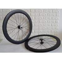 Wholesale Carbon track wheelset 700c clincher tubular single speed bicycle wheels from china suppliers